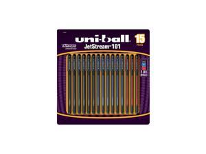 Uni-Ball Jetstream 101 - Assorted Colors - 12 ct.