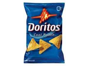 Doritos Cool Ranch Flavored Tortilla Chips, 3.375 Oz (Pack of 24)