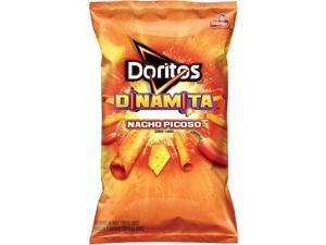 Doritos Dinamita Nacho Picoso Rolled Flavored Tortilla Chips, 4 Oz (Pack of 28)