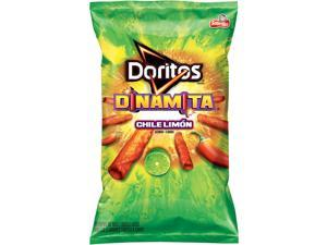 Doritos Dinamita Chile Limon Rolled Flavored Tortilla Chips, 4 Oz (Pack of 28)