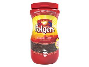 Folgers Coffee Classic Roast 100% Pure Instant 16oz (3 Pack)