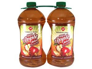 Member's Mark100% Apple Juice - 2/96 oz. btls.