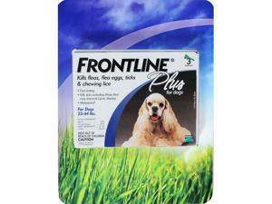 Frontline Plus Flea Tick and Lice Control for Dogs 23-44 lbs.