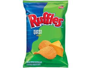 Frito Lay Ruffles Queso Chips, 2.875oz Bags (24pk)