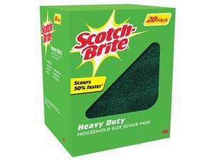 Scotch-Brite Heavy Duty Scour Pads - 20 ct.
