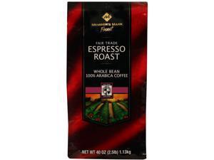 Member's Mark Fair Trade Espresso Roast - 40 oz.