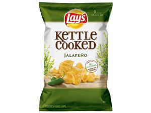Lay's Kettle Cooked Jalapeno Chips, 2.5 Oz Bags 24pk