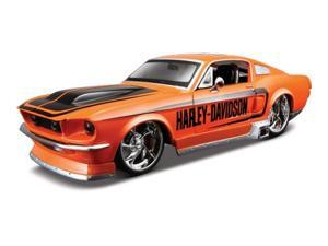 Maisto 1:24 Scale Orange 1967 Ford Mustang GT