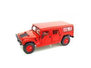 Maisto 1:18 Scale Red Hummer (4-Door Wagon)