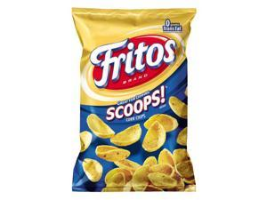 Fritos: Scoops! Corn Chips, 14 Oz Bags (Pack of 7)