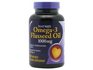 Omega-3 Flax Seed Oil 1000mg - 90 - Softgel