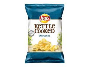 Lay's Kettle Cooked Original Chips, 8.5 Oz Bags (12 Pack)