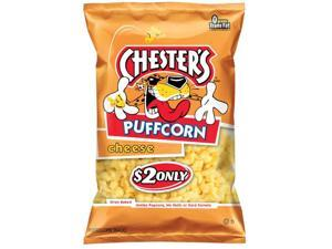 Chester's Cheese Flavored Puffcorn, 4.5oz Bags (12pk)