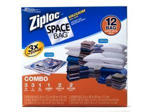 Ziploc Space Bags 12 ct. Combo