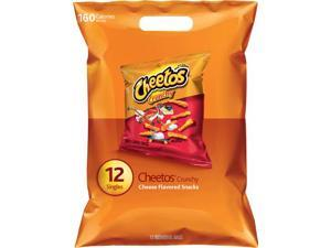 Cheetos Crunchy Cheese Flavored Snacks, 12/1oz Singles (Pack of 8)
