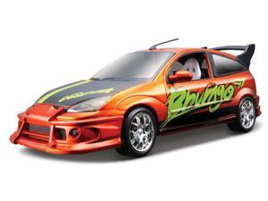Bburago 1:24 Metallic Orange Ford Focus