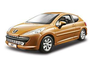 Bburago 2011 Star 1:24 Metallic Copper Peugeot 207