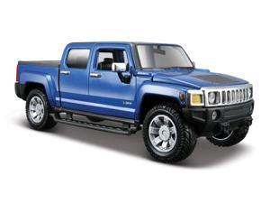 Maisto 1:26 Scale Metallic Blue 2009 Hummer H3T