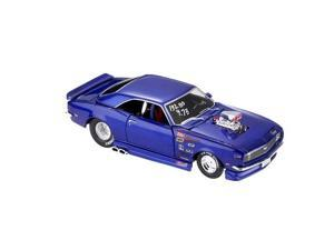 Maisto 1:24 Blue & Aqua PS 1968 Chevrolet Camaro Z/28