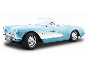 Maisto 1:18 Metallic Blue AS 1957 Chevrolet Corvette