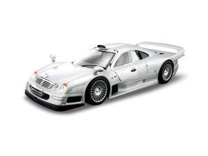 Maisto 1:26 Silver AL Mercedes-Benz CLK-GTR