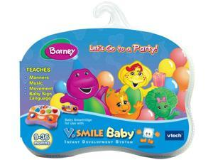 V Smile Baby Smartridge: Barney - Let's Go to a Party!