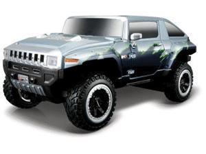 1:24 Maisto Hummer Hx Blue/Silver Remote Control Car