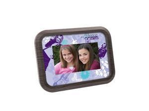 "Disney Hannah Montana/ Tinkerbell 7"" LCD Pix Frame"
