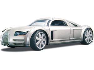 """Maisto 1:18 Audi Supersportwagen """"Rosemeyer"""" Silver"""