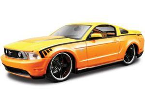 Maisto 1:24 2010 Ford Mustang - Orange/Yellow