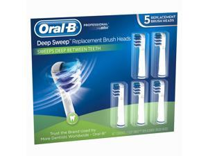 Oral-B Toothbrush Replacement Heads - Deep Sweep - 5 ct.