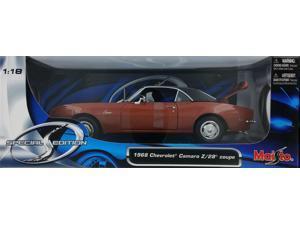 Maisto 1:18 Bronze 1968 Chevrolet Camaro Z/28 Coupe