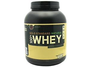 Gold Standard 100% Natural Whey Protein, Chocolate, 5 lbs, From Optimum Nutrition