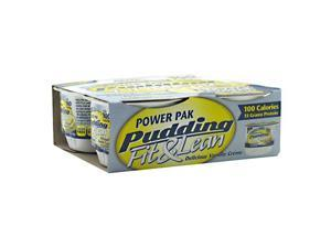 MHP Power Pak Pudding Fit & Lean Delicious Vanilla Creme - 4 Cups - 4.5 oz. each