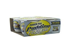 MHP Power Pak Pudding Fit & Lean Delicious Dutch Chocolate - 4 Cups - 4.5 oz.