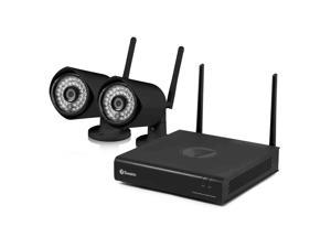 Swann 4 Channel 1080p Wireless Security System (500GB HDD and 2x 1080p Cameras)