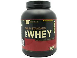 100% Whey Protein, White Chocolate, 5 lbs, From Optimum Nutrition