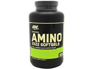 Optimum Nutrition Superior Amino 2222, 300 Softgels