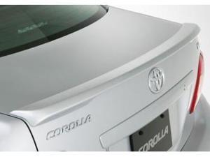 Toyota Corolla Lip Spoiler  (Factory) 040 Super White