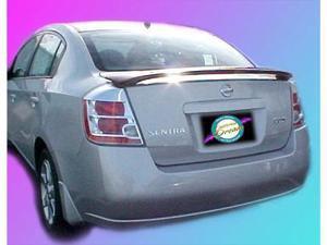 Unpainted 2007-2010 Nissan Sentra Spoiler Custom Style
