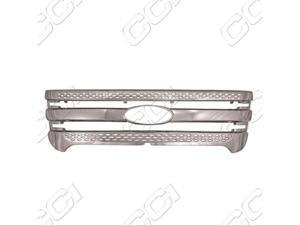 2011-2012 Ford Explorer Chrome Billet Grille Overlay