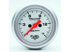 Auto Meter 4361 Ultra-Lite Electric Fuel Pressure Gauge