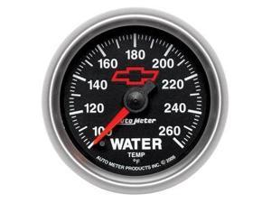 Auto Meter 3655-00406 GM Series Electric Water Temerature Gauge by Auto Meter