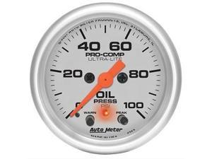 Auto Meter 4352 Ultra-Lite Electric Oil Pressure Gauge