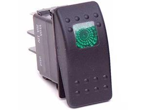 Daystar KU80012 Daystar Rocker Switch, Green