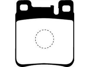 EBC Brakes DP3887C EBC Redstuff Ceramic Low Dust Brake Pads