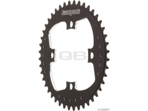 Tangent 4 bolt Chainring 44t 104mm Black
