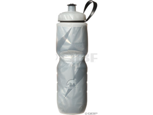 Polar Insulated Pattern Water Bottle: 24oz~ White/Black