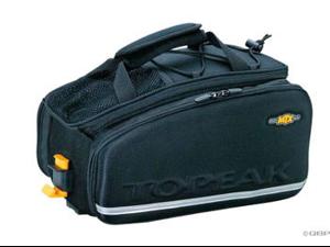 Topeak MTX TrunkBag EXP Rack Bag: Black