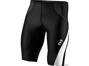 TYR Men's Competitor Series Swim Jammer: Black/Gray LG